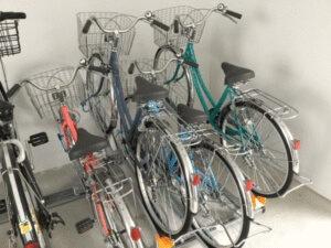 エルプレイス東三国 無料貸出し自転車