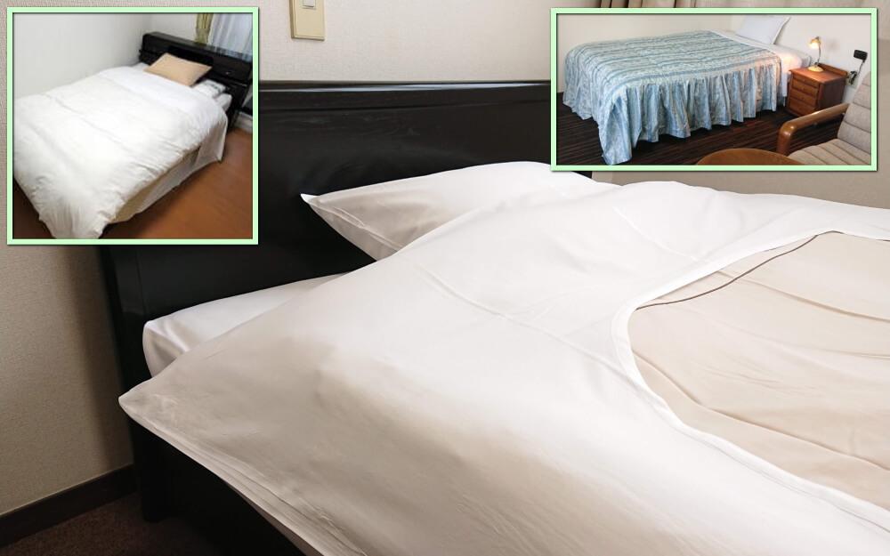 寝具一式付き賃貸マンション